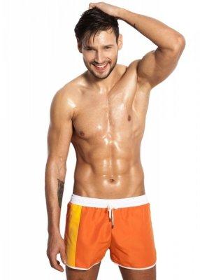Alpha Male Curso Orange Pánské plavky