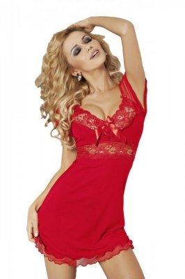 Dkaren Paulina červená Noční košile