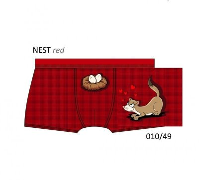 Cornette Nest 010/49 Gift Box Pánské boxerky