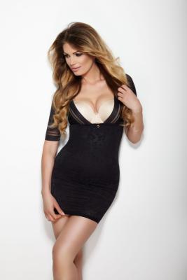 Mitex Glossy Dress Černá Spodnička