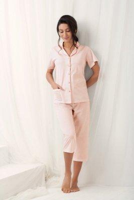 Luna Brenda 573 Meruňkové Dámské pyžamo