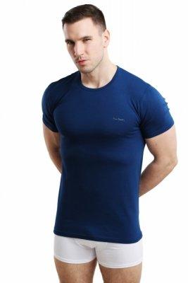 Pierre Cardin Rneck tmavě modrý Pánské triko