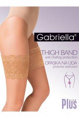 Gabriella 509 černý Pásek na stehna