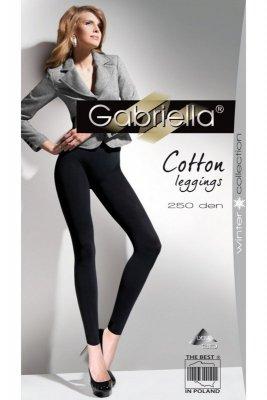 Gabriella 179 cotton 250 nero Legíny