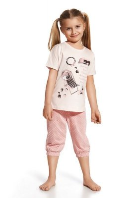 Cornette 571/46 I love summer Růžové Dívčí pyžamo