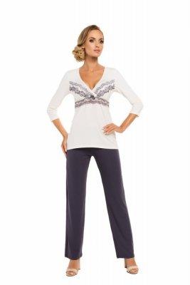 Donna Aura ecru Dámské pyžamo