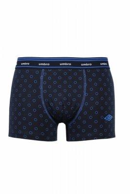 Umbro Circles tmavě modré Pánské boxerky