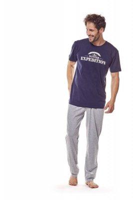 Henderson 36206 59x Tmavě modré Pánské pyžamo