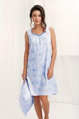 Luna Anabella 190 Šedo-modrá Noční košilka