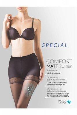 přidat do schránky Gabriella 479 comfort matt 20den nero + 5 Punčochové  kalhoty 881cc74042
