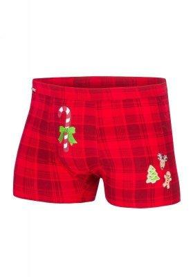 Cornette Candy Cane 017/42 Merry Christmas Pánské boxerky
