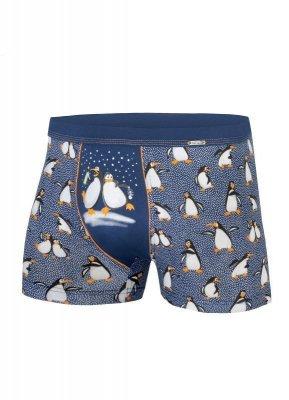 Cornette Penguins 007/43 Merry Christmas Pánské boxerky