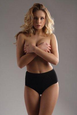 Italian Fashion Jana maxi černé Kalhotky