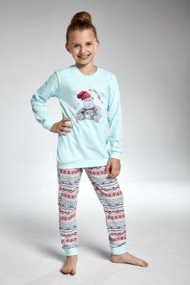 Cornette 594/95 hippo tyrkysové Dívčí pyžamo