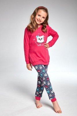 Cornette 978/103 young owl růžové Dívčí pyžamo