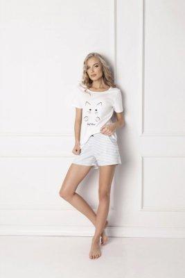 Aruelle Catwoman Short White Dámské pyžamo