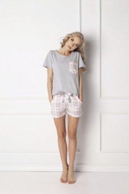 Aruelle Londie Short Grey Dámské pyžamo