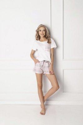 Aruelle Londie Short White Dámské pyžamo