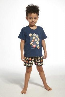 Cornette 790/76 young emoticon jeans Chlapecké pyžamo