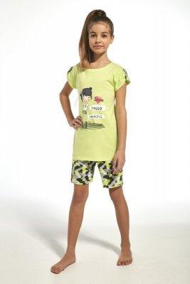 Cornette 243/62 kids girl seledinové Dívčí pyžamo