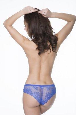 Julimex Tanga Panty Chrpové Kalhotky