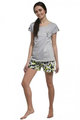 Cornette F&Y Girl 277/31 Camo Dívčí pyžamo