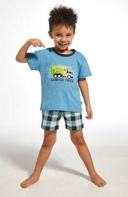 Cornette Kids Boy 789/69 Garbage Truck Chlapecké pyžamo
