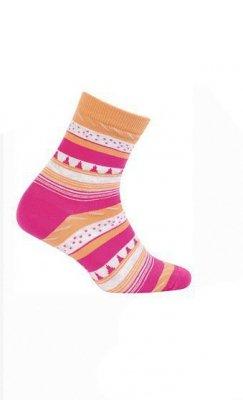 Wola Teens W34.01P 6-11 lat ponožky s vzorem