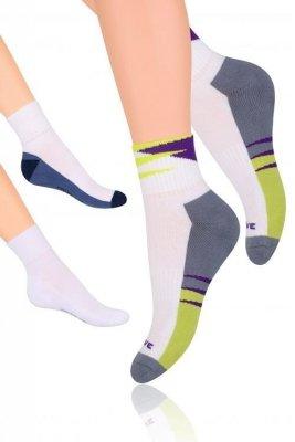 Steven  art.040 Sportovní ponožky