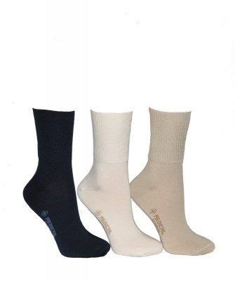 Terjax Bamboo line beztlakové art.015 Dámské ponožky