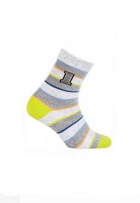 Wola  W24.P01 2-6 lat Chlapecké ponožky s vzorem
