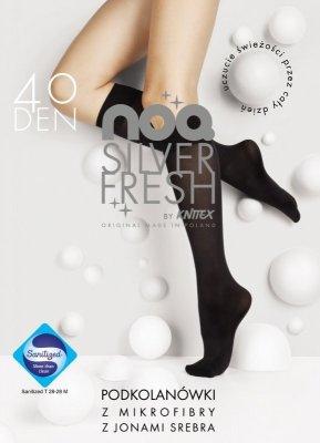 Knittex Silver Fresh 40 den Podkolenky