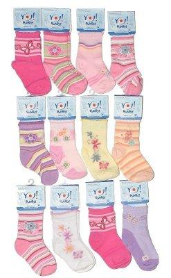 YO! Pikotka SKC A'6 S-L mix dívčí ponožky