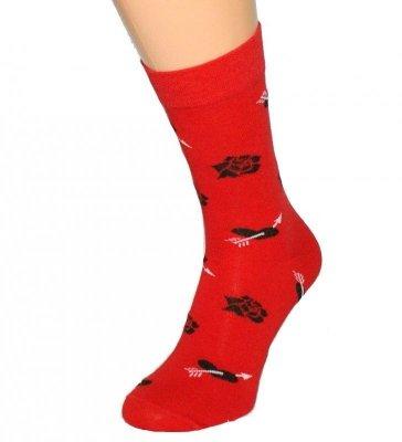 Bratex Classic Men 424 Valentýna Pánské ponožky