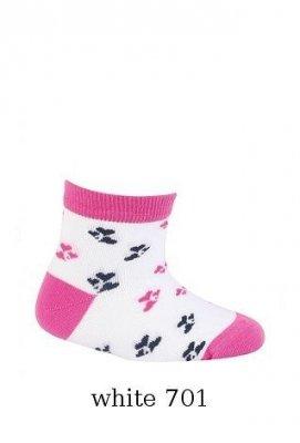 Gatta Cottoline jarní-letní vzorované G14.59N 0-2 let Dívčí ponožky