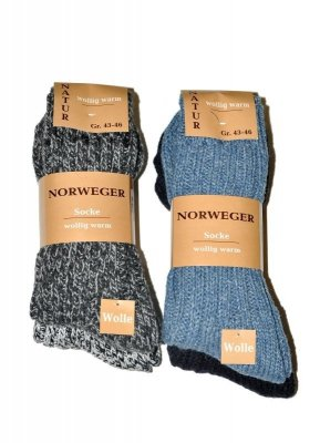 WiK art.21108 Norweger Socke A'2 Pánské ponožky
