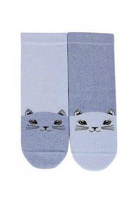 Cottoline G34.01N 6-11 lat Vzorované dívčí ponožky