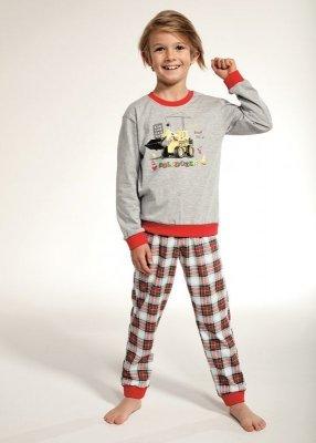 Cornette Kids Boy 593/88 Bulldozer 86-128 Chlapecké pyžamo
