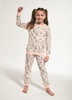 Cornette Young Girl 033/118 Polar Bear 134-164 Dívčí pyžamo