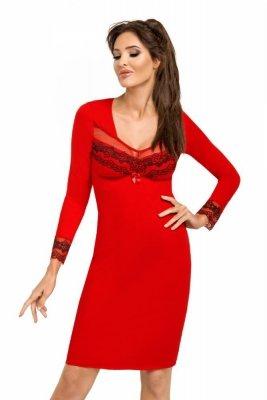Donna Jasmine II červená Noční košile