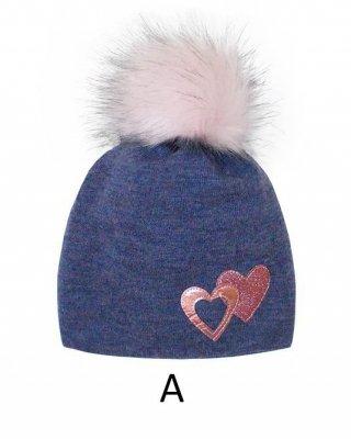 AJS 38-458 dívčí čepice