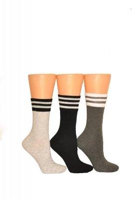 Milena 1016 ponožky  s proužky