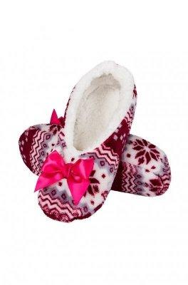 Soxo 79792 Dámské papuče baleríny se vzorem