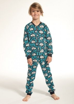 Cornette Kids Boy 185/99 Koala 2 dl/r 86-128 Chlapecký overal-pyžamo