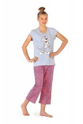 Cornette F&Y 556/17 Panther Dívčí pyžamo