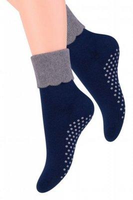 Steven 126 ABS frotte Dámské ponožky
