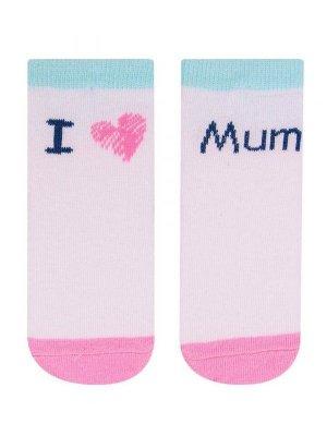 YO! SK-31 Girl 17-26 dívčí ponožky, nápisy