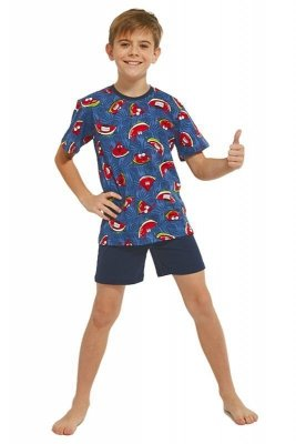 Cornette 334/86 Kids Watermelon 3 Chlapecké pyžamo
