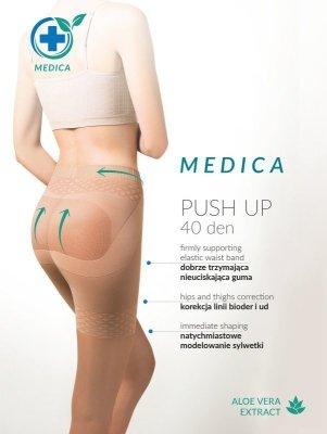 Gabriella Medica Push Up 40 den Punčochové kalhoty