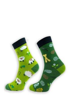 Krebo nepárové Dámské ponožky